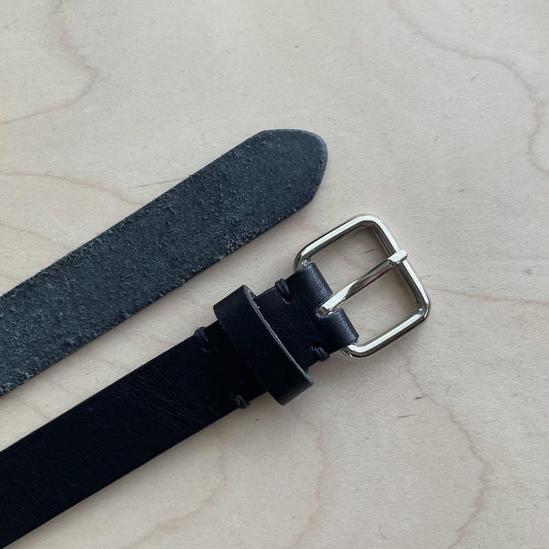 simple leather beltの画像23枚目