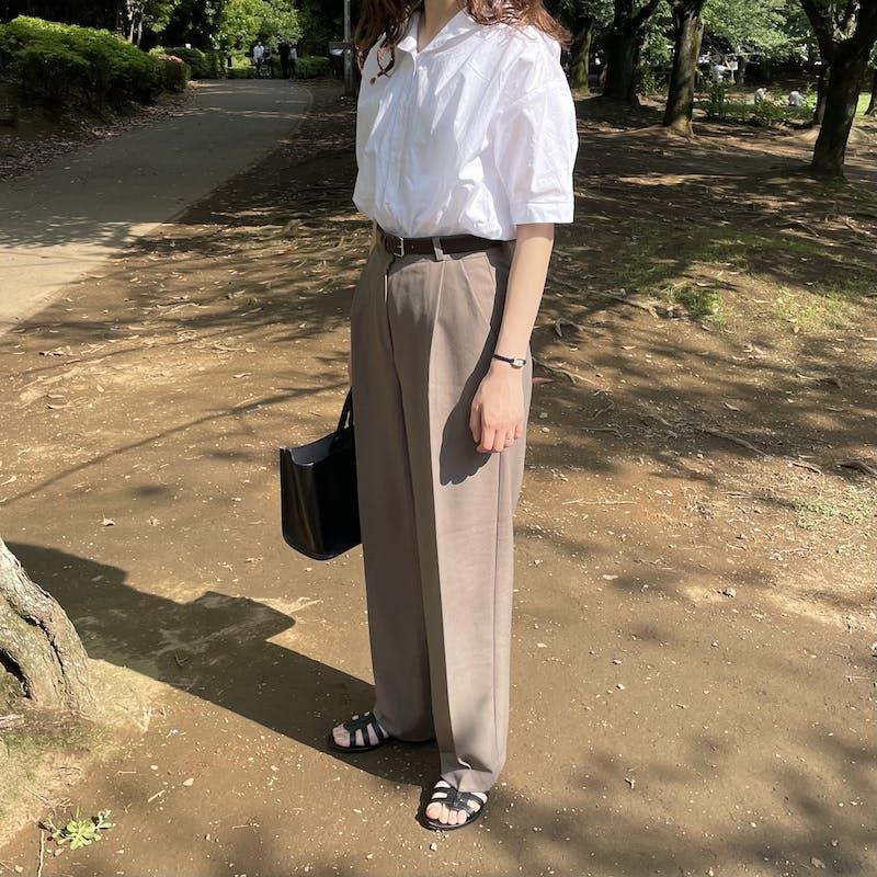 cotton puff blouseの画像2枚目