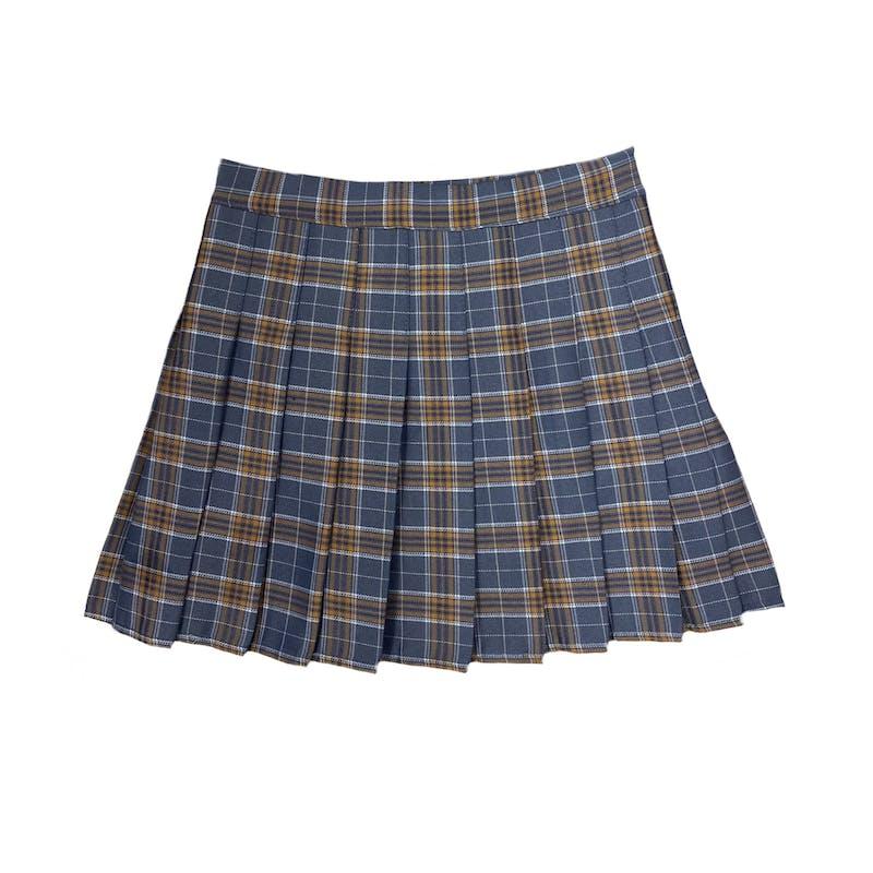 アイドルチェックプリーツスカートの画像2枚目