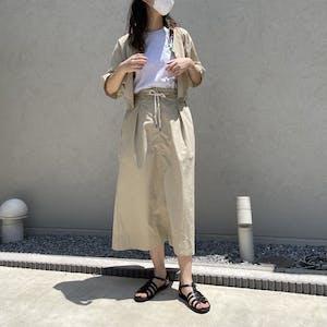 2 way blouse & skirt set