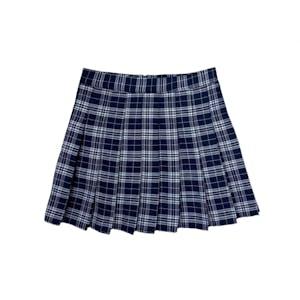 アイドルチェックプリーツスカート