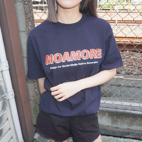 MOAMOREシグネチャーTシャツの画像1枚目