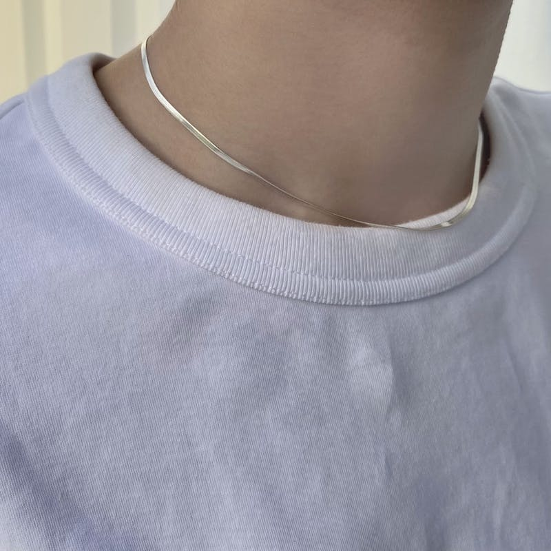 chain necklaceの画像2枚目