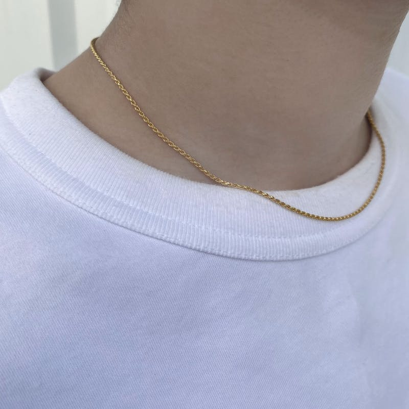 gold chain necklaceの画像16枚目