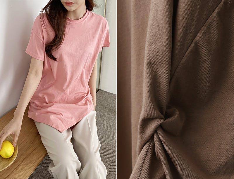 シンプルシャーリングTシャツ T001の画像24枚目