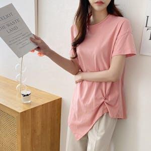 シンプルシャーリングTシャツ T001