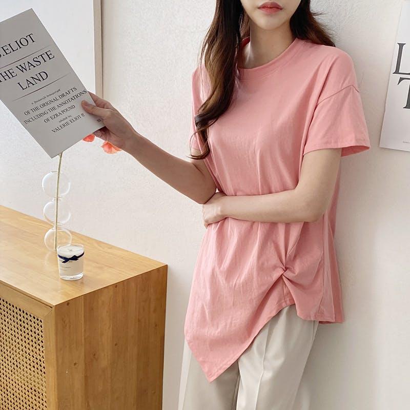 シンプルシャーリングTシャツ T001の画像1枚目