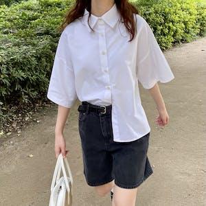 short length shirts