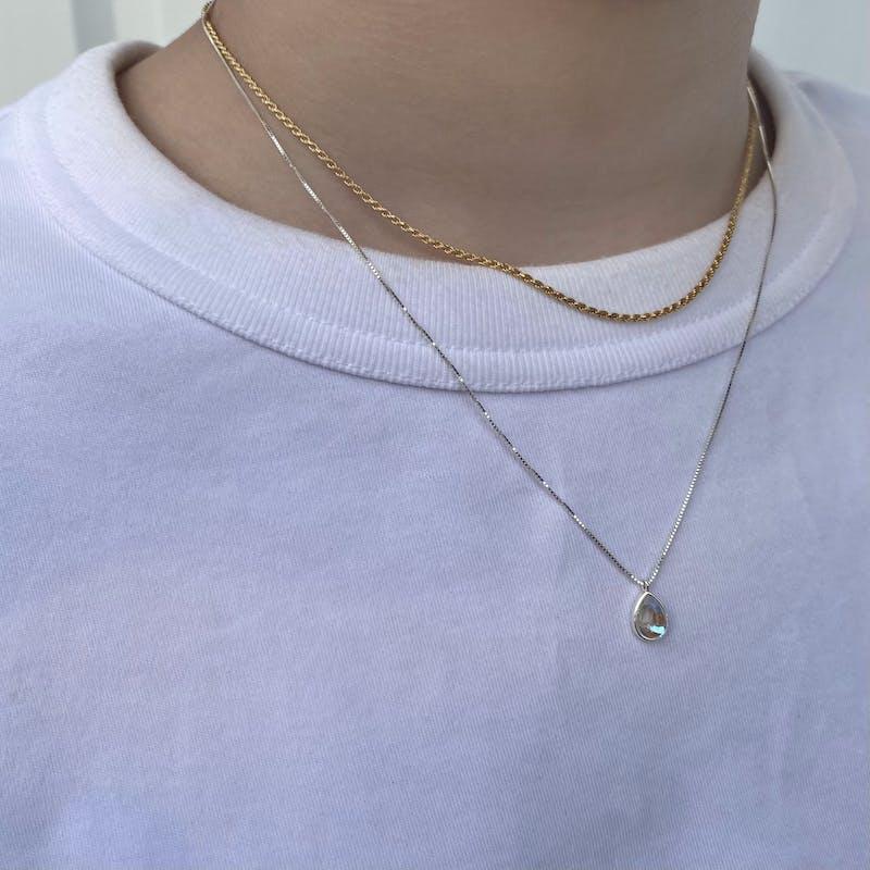 tear moon. necklaceの画像9枚目