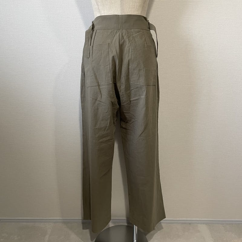 belted linen pantsの画像72枚目