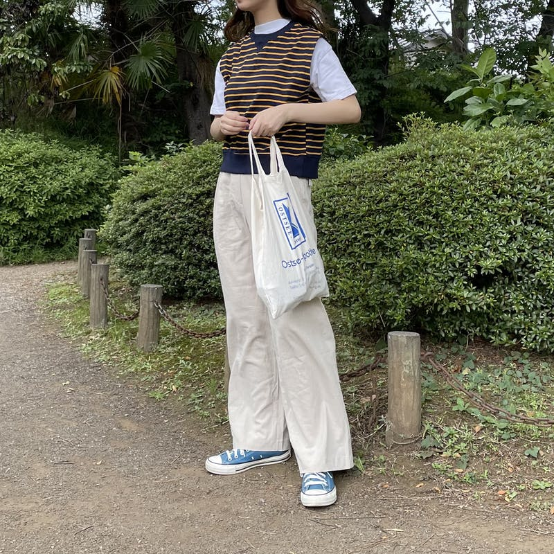 belted linen pantsの画像2枚目