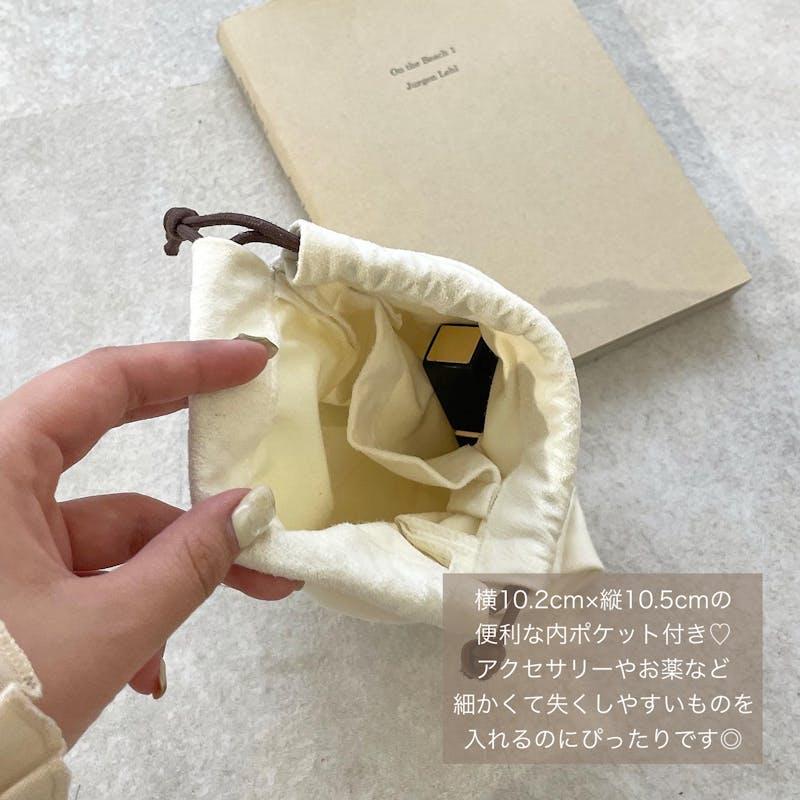 mytwilight オリジナル スエード 巾着の画像7枚目