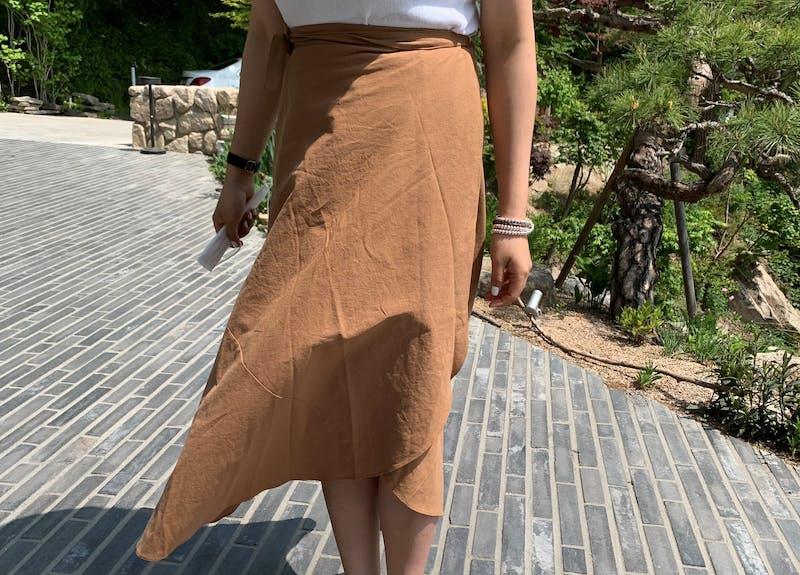カバーラップスカート H019の画像2枚目