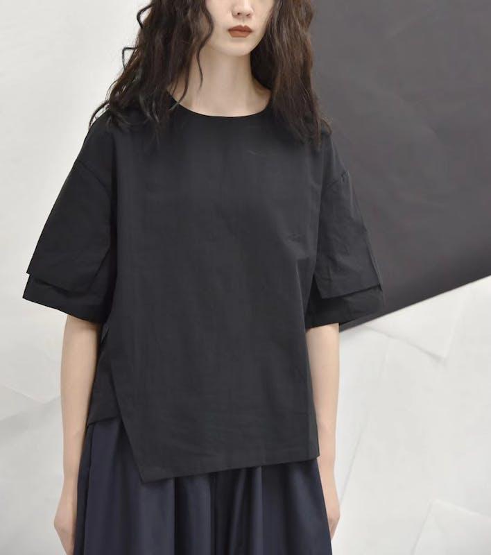 ダブルカットTシャツ T017の画像2枚目