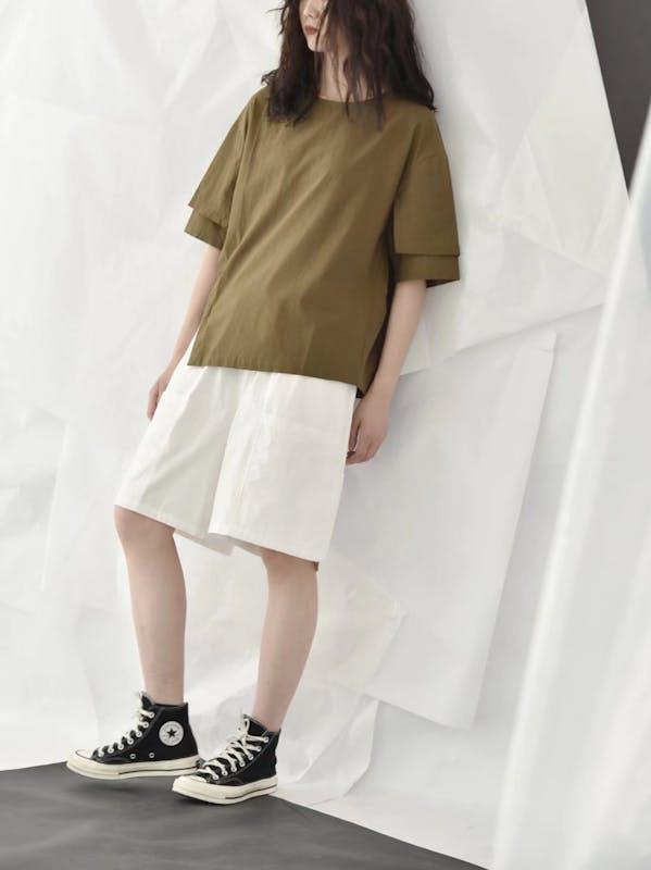 ダブルカットTシャツ T017の画像30枚目