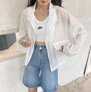 サイドポケットシャツ T011