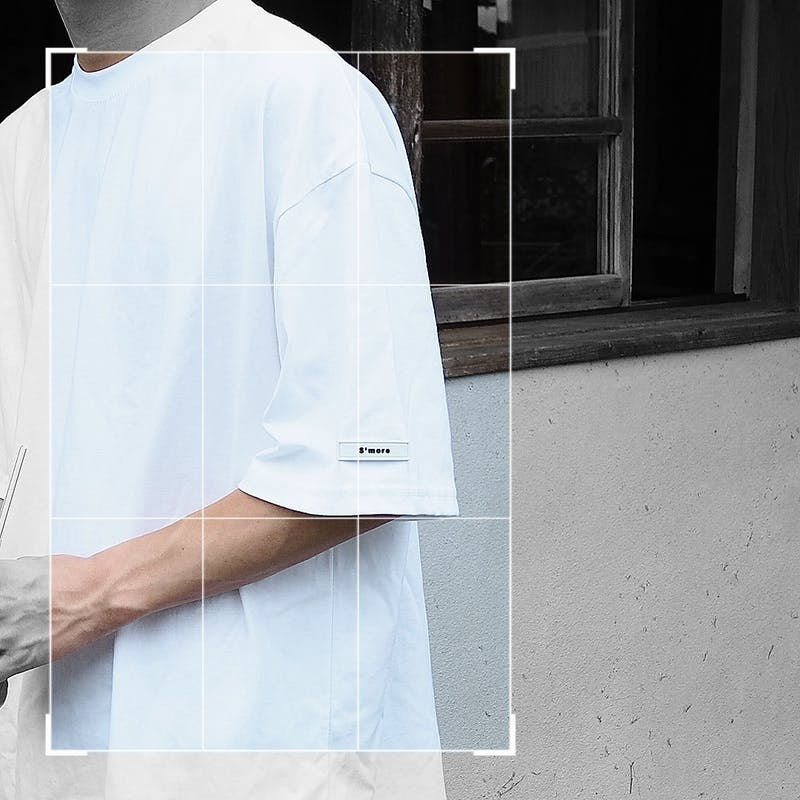 S'more over tag T-shirtの画像1枚目