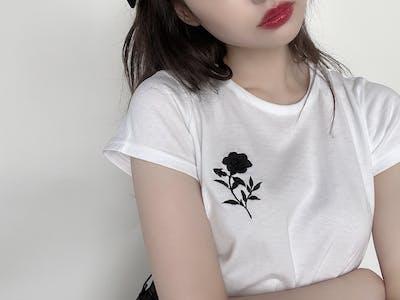SYMBOL FLOWER T-SHIRT