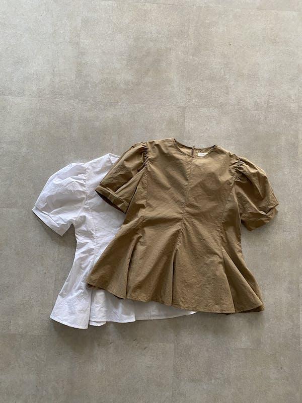 peplum puff blouseの画像18枚目