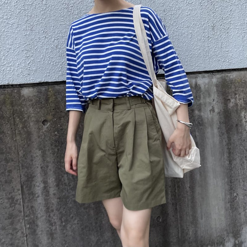 belted short pantsの画像2枚目