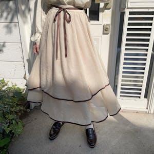 mellow's 2wayパイピングスカート