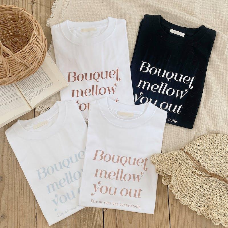 mellow's ブーケTシャツの画像1枚目