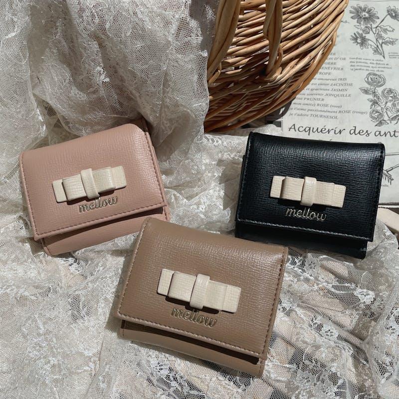 mellow's リボン財布の画像1枚目