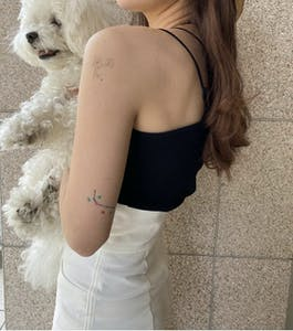 ちらっとさりげなく見せるのが可愛い【韓国風タトゥーシール】で10倍お洒落な夏に♥