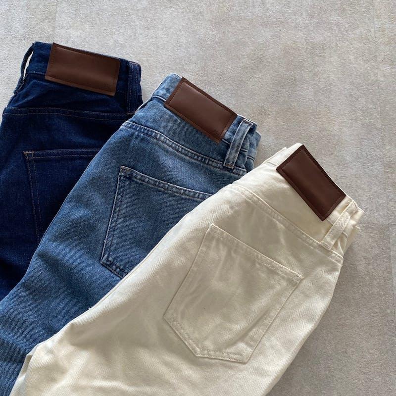 PL highwest denim flare pantsの画像1枚目