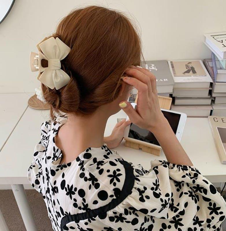 ribbon hair clipの画像6枚目