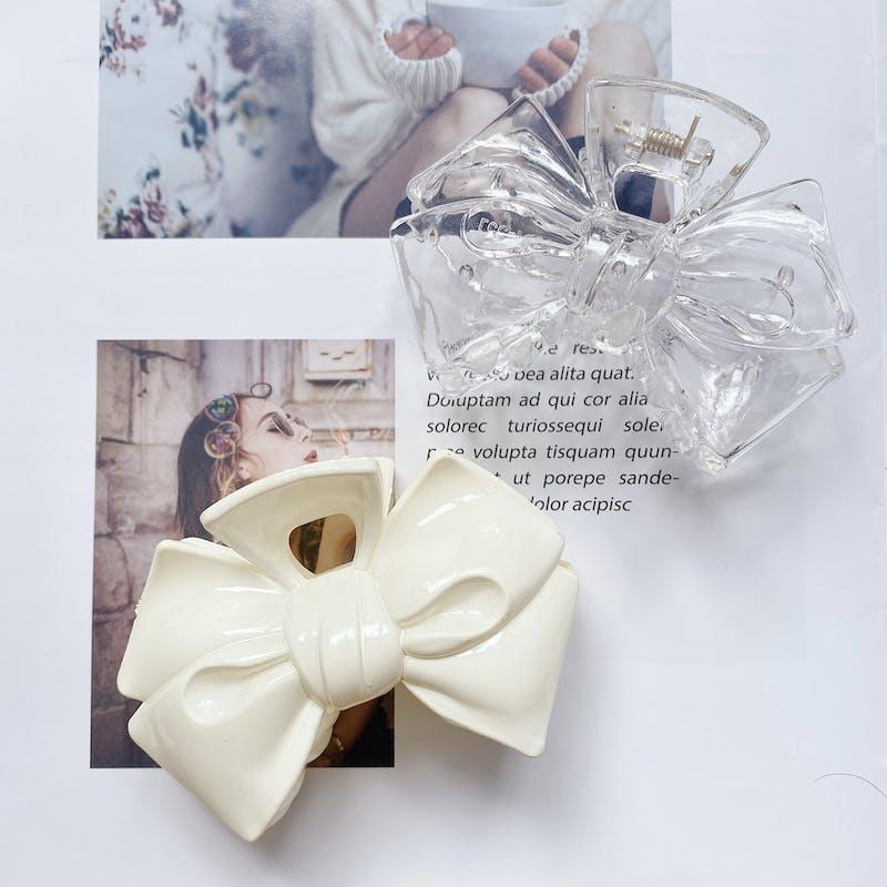 ribbon hair clipの画像2枚目
