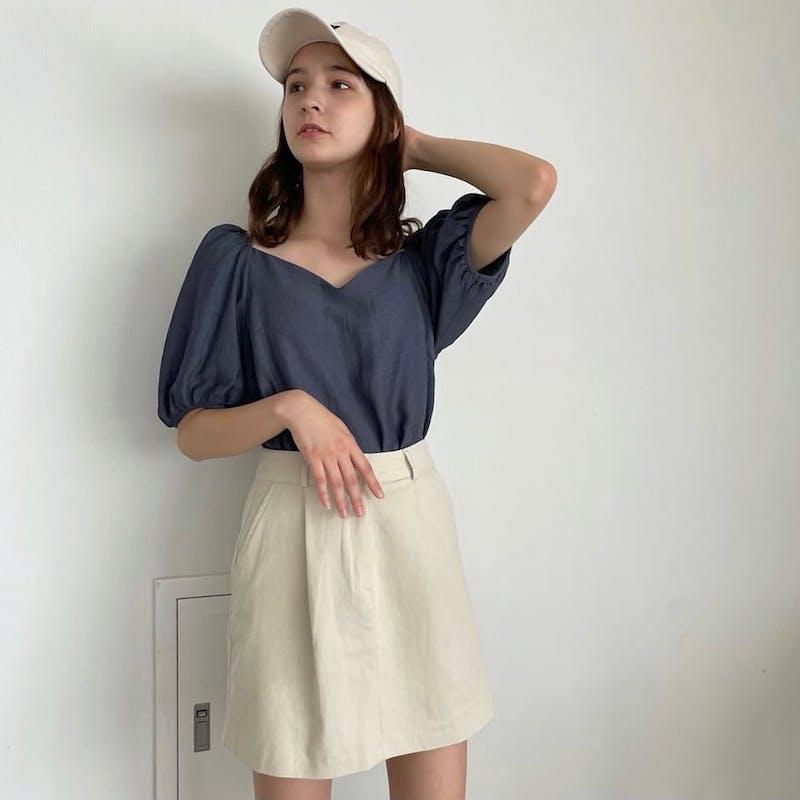 シンプル台形スカートの画像10枚目