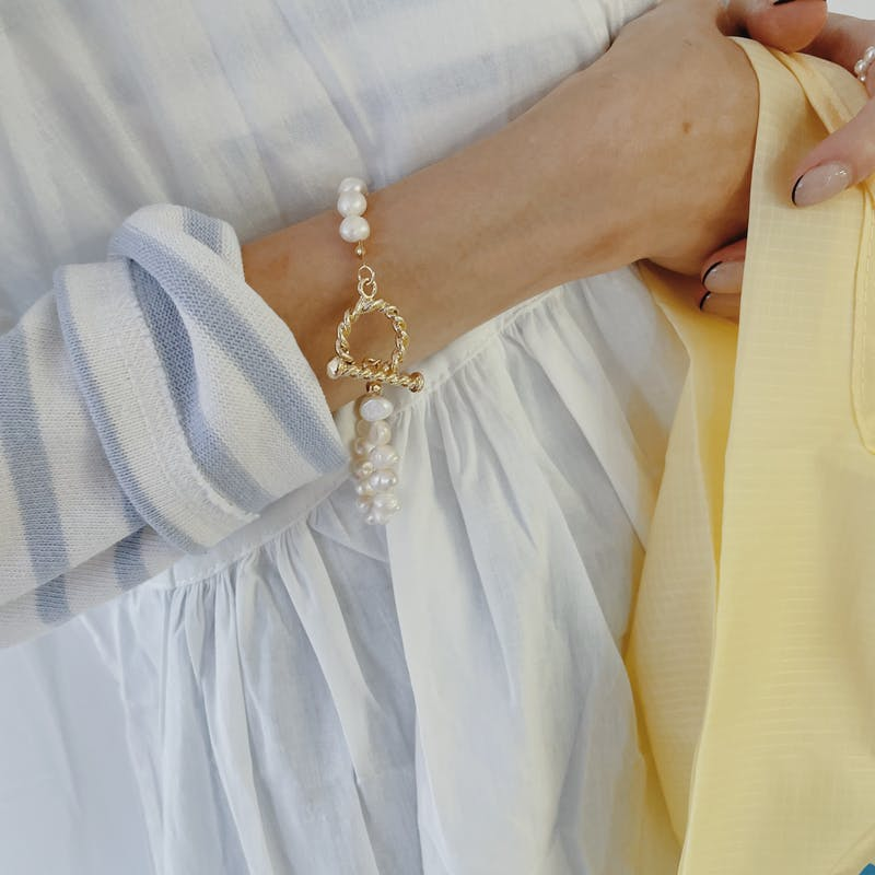 pearl braceletの画像2枚目
