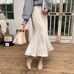 シンプルマーメイドスカート