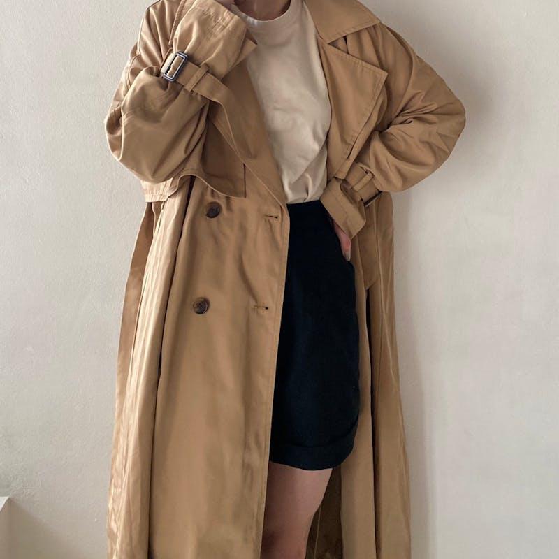 PL classic trench coatの画像1枚目