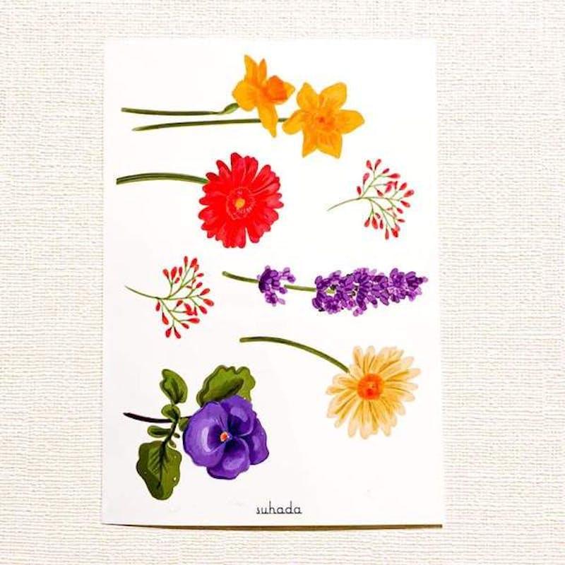 Pastel Flower[ID: sor0659]の画像2枚目