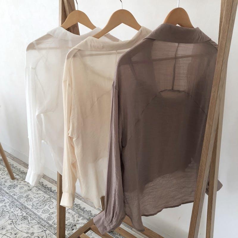 シアーシャツ&インナーセットの画像42枚目