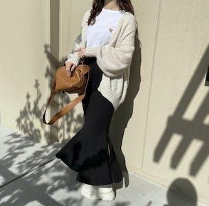 【骨スト必見】誰でも美脚に!スタイル詐欺できる超優秀マーメイドスカート テイスト別6選