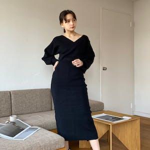 cache-coeur lady knit op